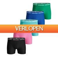 Plutosport offer: 5 x Bjorn Borg Shorts Summer Weekend boxershort
