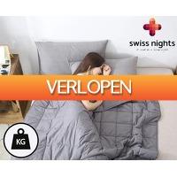 Groupdeal: Swiss Nights verzwaringsdeken