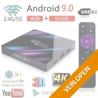 Android TV Box Android 9.0 mediaspeler