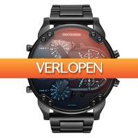 Watch2day.nl: Diesel Mr. Daddy XXXL Chronograph DZ7395