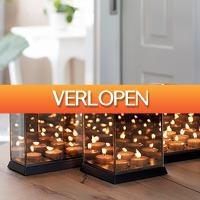 Dealbanana.com: Candle Light Mirror Glass