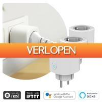 6deals.nl: 3 x Smart Home stekkers
