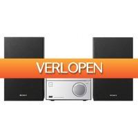 Expert.nl: Sony stereo set CMT-SBT20B zilver/zwart