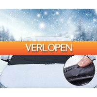 Groupdeal: Magnetische anti-vries voorruitcover