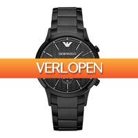 Watch2day.nl: Emporio Armani Renato Chronograph AR2485 herenhorloge