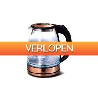 VakantieVeilingen: Veiling: Rosegoudkleurige waterkoker van Berlinger Haus