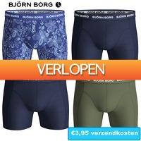 6deals.nl: 4 Bjorn Borg boxers