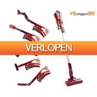 Groupdeal: TurboTronic VSmach180 draadloze steelstofzuiger