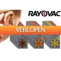 VoucherVandaag.nl 2: 60 x Rayovac gehoorapparaat batterijen