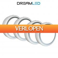 One Day Only: 4 x Dreamled RIML 400 draadloze lampen