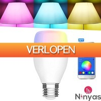 Daystunt.com: Ninyas Smart RGB LED Lamp E27  20.000 uur