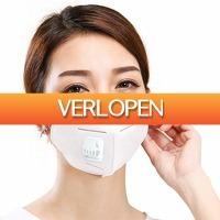 Dennisdeal.com 3: N95 4 Layer Breathing Valve Dustproof Anti-Virus Fog Pathogen Mask