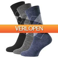 CheckDieDeal.nl 2: Warme diabetes sokken, heren 3-pack
