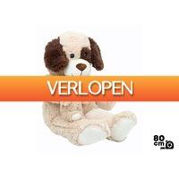 DealDonkey.com 2: Knuffel hond & puppy - 80cm