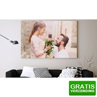 Bekijk de deal van Groupon 3: Photo.Gifts foto op canvas