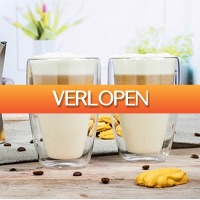 CheckDieDeal.nl 2: 6 x dubbelwandige glazen