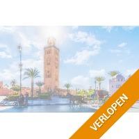 Bezoek exotisch Marrakech