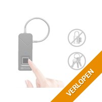 Movelly fingerprint slot mat zwart