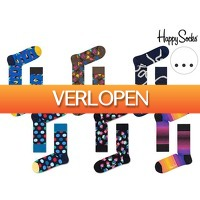 iBOOD Sports & Fashion: 6 paar Happy Socks