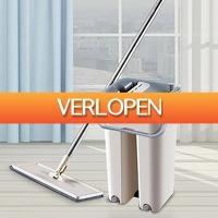 CheckDieDeal.nl: Push-N-Clean Compleet vloerwisser systeem