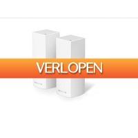 EP.nl: 2 x Linksys WHW0302 Velop tri-band multiroom WiFi