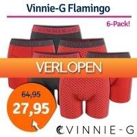 1dagactie.nl: Vinnie-G boxershorts Flamingo 6-pack