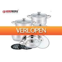 DealDonkey.com: Herzberg HG-1242 pannenset