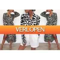 VoucherVandaag.nl: Panterprint jurk en blouse