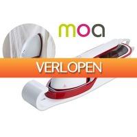 VoucherVandaag.nl 2: Moa draagbare kledingstomer en strijkijzer