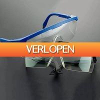 Dealbanana.com: Transparante veiligheidsbril