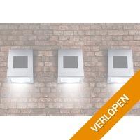 Veiling: 3 roestvrijstalen solarlampen van Hyundai