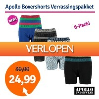 1dagactie.nl: Apollo boxershorts verrassingspakket