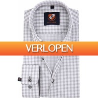 Suitableshop: Suitable Overhemd Grey Check