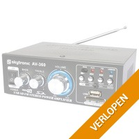 SkyTronic AV-360 USB/MP3 versterker