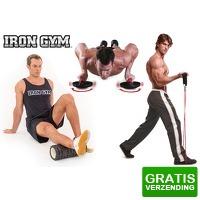 Bekijk de deal van VoucherVandaag.nl 2: Iron Gym sportartikelen