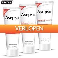 6deals.nl: 3-pack Asepso desinfecterende handgel