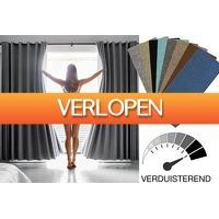 VoucherVandaag.nl: Verduisterende gordijnen in 2 maten
