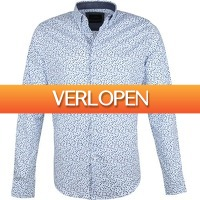 Suitableshop: Vanguard overhemd bloemenprint