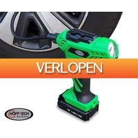 Voordeelvanger.nl 2: Hofftech draadloze accu compressor