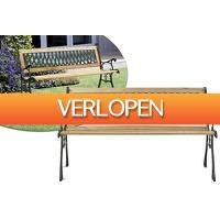 VoucherVandaag.nl 2: Houten tuinbank