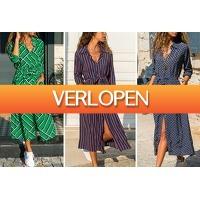 VoucherVandaag.nl: Lange blousejurk