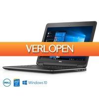 Voordeelvanger.nl: Dell Latitude 12.5 inch refurbished laptop
