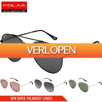 6deals.nl: Polar Aviator gepolariseerde zonnebril