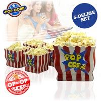 Bekijk de deal van voorHAAR.nl: 5-delige popcornset
