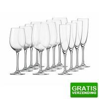 Bekijk de deal van Tripper Producten: 12-delige Schott Zwiesel wijnglazen starterset