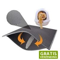 Dennisdeal.com 2: Dubbellaags kattenbak mat