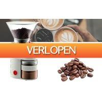 DealDonkey.com 2: Bodum coffee grinder - Elektrische koffiemolen