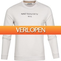 Suitableshop: No-Excess pullover Stretch Off-White