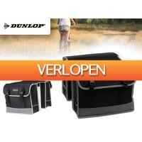 DealDonkey.com 4: Dunlop zwarte dubbele fietstas