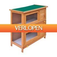 VidaXL.nl: vidaXL konijnenhok